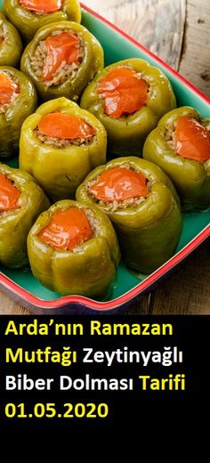 Turkish Recipes, Ethnic Recipes, Baked Potato, Olive Oil, Cucumber, Food And Drink, Stuffed Peppers, Fruit, Vegetables