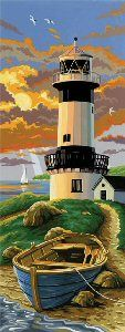 Paint By Number - Lighthouse.