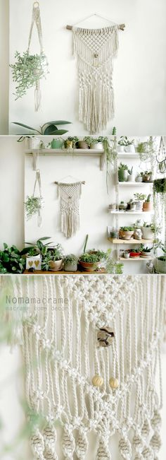 macrame wall hanging can hang & decor your walls and give your home bohochic. this modern macrame gives your room warm feeling, you can hang it in your badroom,living room or any other room.  Wooden dowel length- 40cm ( 15.5 inches ) Macrame width- 28 cm ( 11 inches ) Macrame length- 72cm ( 28.5 inches)