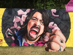 "Dave Grohl ""Foo Fighters"" PinkPop 2015"