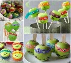 Ninja Turtle Party Ideas party diy recipe recipes crafts party ideas party crafts party diy tmnt ninja turtle