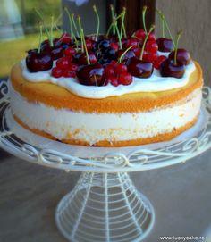Tort Cherry-ricotta