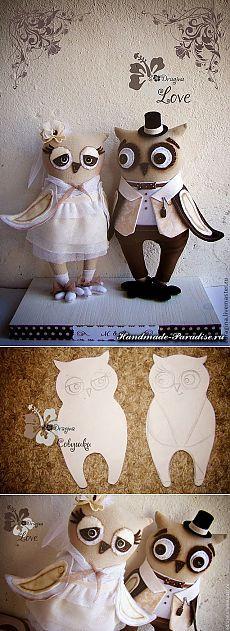 Совиная свадьба. Выкройка совушек - Handmade-Paradise