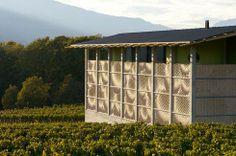 Gantenbein Winery – industrial architecture with innovative use of brick   © Ralph Feiner