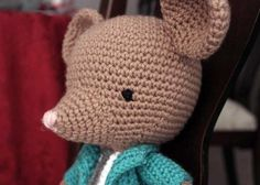 """Free pattern for """"Francisco the Fancy Little Mouse""""!"""