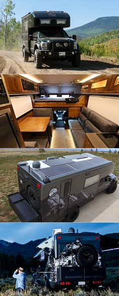 It Started as a Ford F-550 But was Transformed Into the $500K EarthRoamer XV-LTS Expedition Vehicle