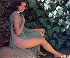 Jenny Agutter in Logan's Run.Such a beautiful woman ideal companion if you are lost in some unknown region.