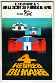The 4 Hours of Le Mans race on 18-19 March 1972 set the order of reserve competitors for the 24 Hours of Le Mans endurance classic held on 10-11 June'72.