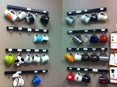 A nice touch to any coworking kitchen, the cup rack so coworkers can bring…
