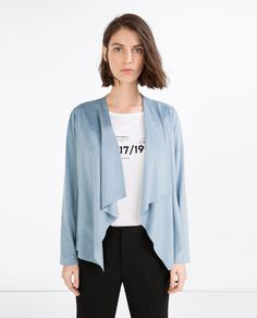 LAPEL JACKET-View All-OUTERWEAR-WOMAN | ZARA United States