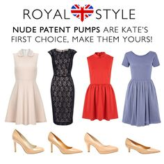 get Kate's Style with Nude pumps! on sale now at www.NineWest.ca! #Kate #NudePumps #NineWest