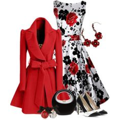 Black, Red and White
