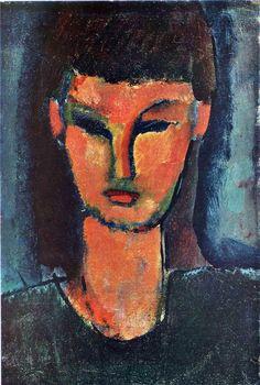 Young Woman - Amedeo Modigliani -