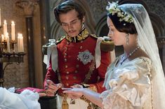 Emily Blunt and Rupert Friend in 'The Young Victoria', 2009