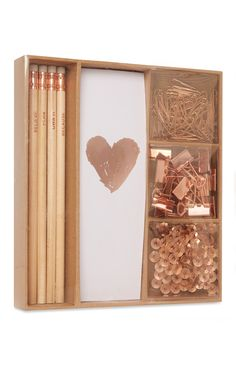 Primark - Copper Stationery Set