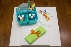 paint, craft, art Birthday Party Ideas | Photo 1 of 27