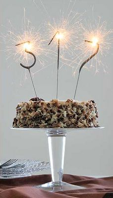 Sparkler Candles Rare Beautiful Treasures Adult Birthday Cakes Cake Toppers