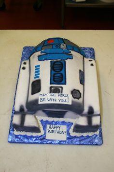 Star Wars cake Farm Cake, Home Meals, Star Wars Cake, Bread Baking, Happy Birthday, Sweets, Cakes, Handmade, Bread Making
