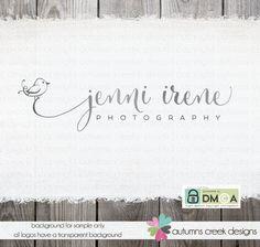 Photography Logo - premade bird logo logo design for photographer logo with bird sketch bird bird drawings photography small business logos