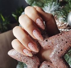 50 trendy nail art designs that inspire your autumn mood .- 50 trendy nail art designs that inspire your autumn mood – mood - Nail Art Designs, Colorful Nail Designs, Nail Designs Spring, Christmas Nail Designs, Christmas Nails, Cute Nails, Pretty Nails, Hair And Nails, My Nails
