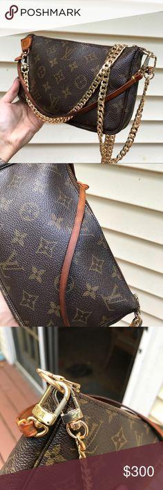 4e09b079a6cb Louis Vuitton Pochette Accessories ✨ 100% authentic ✨ date code  VI0071 ✨  47 inch