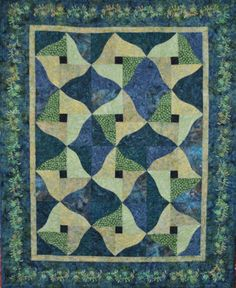 Twilight, a batik quilt