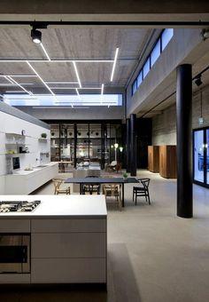 bulthaup showroom by hajj designless b3 hajj. Black Bedroom Furniture Sets. Home Design Ideas