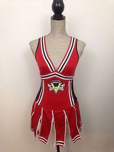 Dreamgirl Gotta Score Varsity Cheerleader Halloween Costume XS Red Sexy Plunge   eBay