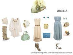 OUTFIT IVORY AND BLUE  Mañana, tarde o noche con URBINA