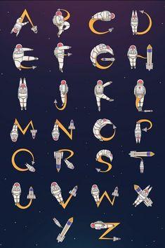 Graffiti Lettering Fonts, Typography Alphabet, Graffiti Alphabet, Creative Lettering, Calligraphy Alphabet, Typography Fonts, Lettering Design, Alfabeto Disney, Buch Design