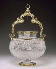 Vase en cristal de roche (l'ivresse de Noé), entré dans la collection de Louis XIV entre 1681 et 1684 – Milan, milieu du XVIe siècle - Paris, Musée du Louvre