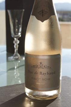 French rose sparkling wine Duc de Raybaud, rose sparkling wine Pinot Noir, Vins Breban, Provence, France Pinot Noir, Aix En Provence, Provence France, Rose, Bottle, Pink, Provence, Flask, Roses