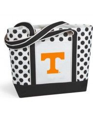 Tennessee Vols Polka Dot Tote