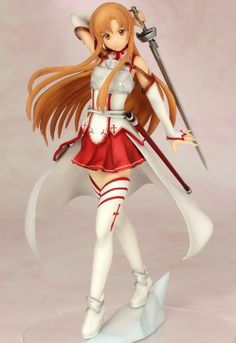 Sword Art Online Figure: Asuna Fencer Version (1/8 PVC)