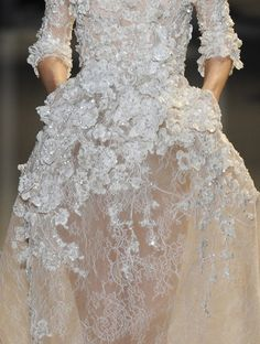 Elie Saab Haute Couture Spring 2013 Details