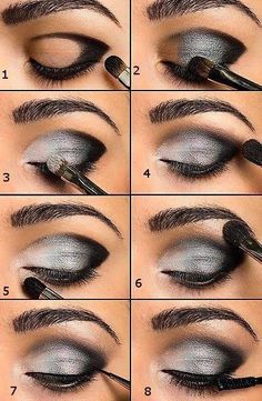 Smokey eye how to.  Our favorite product to use is palettes by Younique or Splurge Cream shadow.