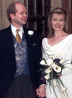 William hague wedding
