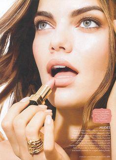 Picture of Barbara Fialho Beauty Skin, Hair Beauty, Lip Colour, Color, Brazilian Supermodel, Laura Biagiotti, Nude Lipstick, Fabulous Nails, Skin Makeup