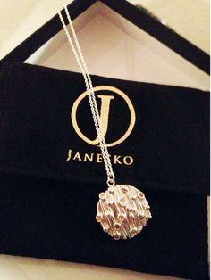 Janesko Atomic Disc necklace. #atomic #jewelry #necklace #madeintheusa #janesko #sterling #modern