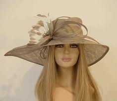 beige derby hats | HATS - Love them / Beige Kentucky Derby hat