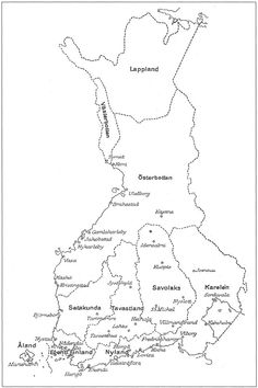 History Of Finland, Prehistory, Fossils, Maps, Nostalgia, Teaching, Finland, History, Learning