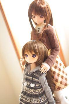 Dollfie dream dolls