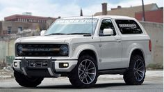 2020 Ford Bronco Confirmed
