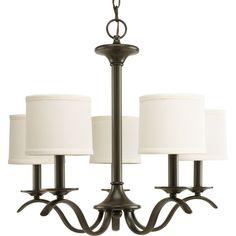 Inspire Collection Antique Bronze 5-light Chandelier