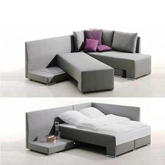 Great for small living space when company arrives: but with pallets that have a connect that doesn't move!