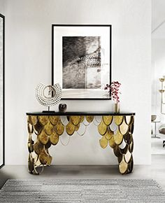 BRABBU Design Forces | Contemporary Home Furniture | www.bocadolobo.com | #console #luxury