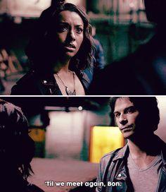 Tvd 8x01 - Let me go, Damon.