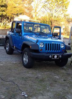 my dream vehicle. jeep islander. minus the steelers plate