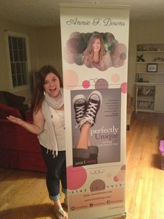 [BLOG] Annie is excited about Charlotte! Check out that fantastic banner!  #thebeautifultruth