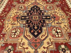 12x18 RUG NEW HAND KNOTTED WOOL WOVEN HERIZ KAZAK 12 x 18 persian area rugs rust | Home & Garden, Rugs & Carpets, Area Rugs | eBay!